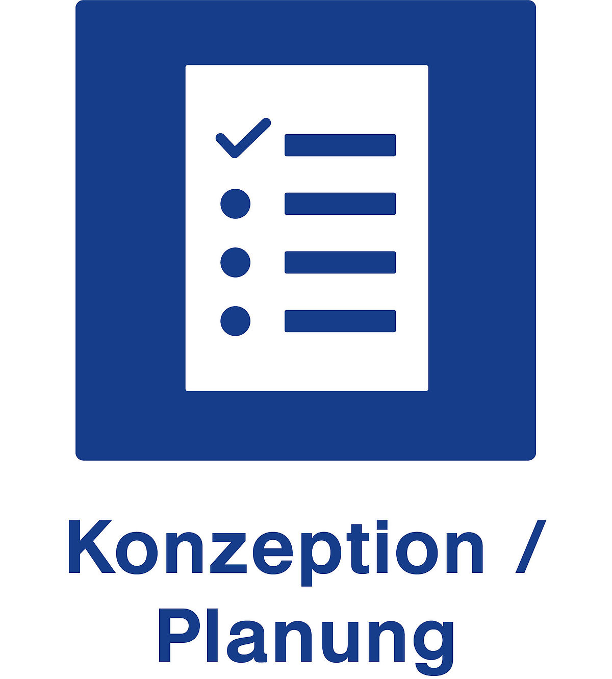 Konzeption / Planung Icon